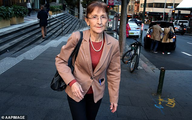 Former Federal Labor MP Janelle Saffin (pictured above) was in court to support her son