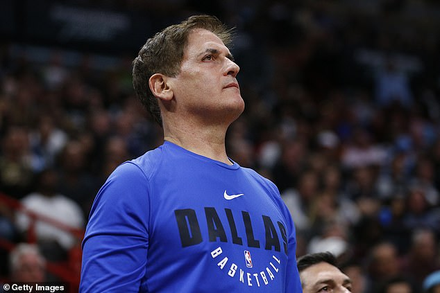 Delonte West met Dallas Mavericks owner Mark Cuban (pictured) in the latest attempt to help the 37-year-old, who has battled bipolar disorder and reported drug issues
