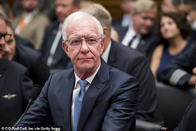 'Miracle on the Hudson' pilot, Captain Chesley Burnett 'Sully' Sullenberger III (pictured), revealed on Tuesday that he will only fly with airlines who keep their middle seat vacant amid the pandemic