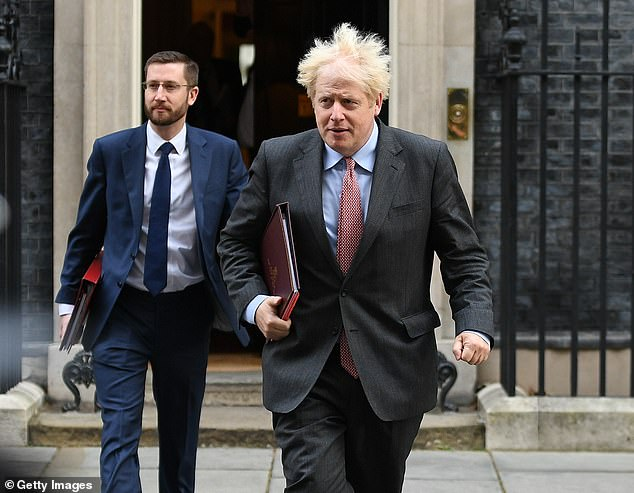 The Government has been urging social media companies to step up their efforts to combat perceived misinformation about Covid. Boris Johnson is pictured today