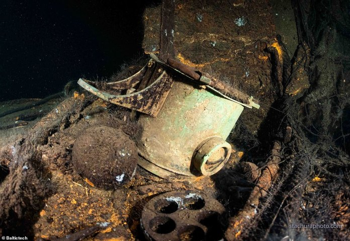 Divers found the wreckage at a depth of 88 meters and say most of it is virtually intact