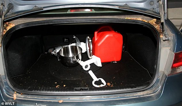On Day 3 of Joel Guy Jr's murder trial in Tennessee, jurors were shown photographs of a meat grinder in the trunk of his car at the time of his arrest in November 2016