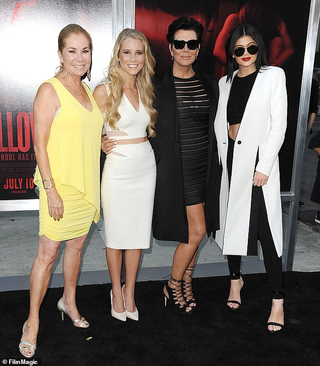 They go way back! Last year Kathie Lee revealed she once lent Kris Jenner money when she was struggling financially (PicturedKathie Lee Gifford, Cassidy Gifford, Kris Jenner and Kylie Jenner together in 2015)