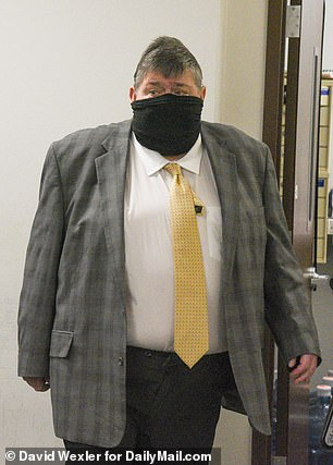 Thomas Murphy seen in a Riverhead, New York, court on Wednesday