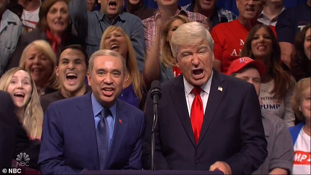 'Nothing would make me happier than to see this end,' Baldwin said about the presidency and portraying Trump on TV