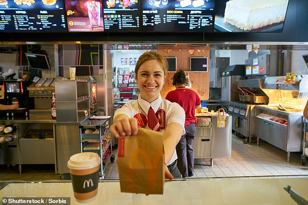 On September 30 - and more than a decade after a 'mutual' relationship - McDonald's terminated the verification process. Angus Australia said they were 'disappointed' to make the announcement (stock image)