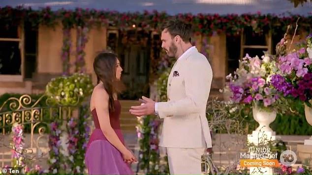 Heartbreaking: Bella was left blindsided after Locky Gilbert dumped her for Irena Srbinovska during the emotional finale of The Bachelor last month