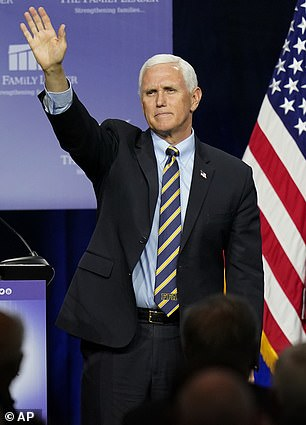 Line of succession: Under the 25th Amendment, Vice President Mike Pence is next to assume executive control if the president cannot finish his term