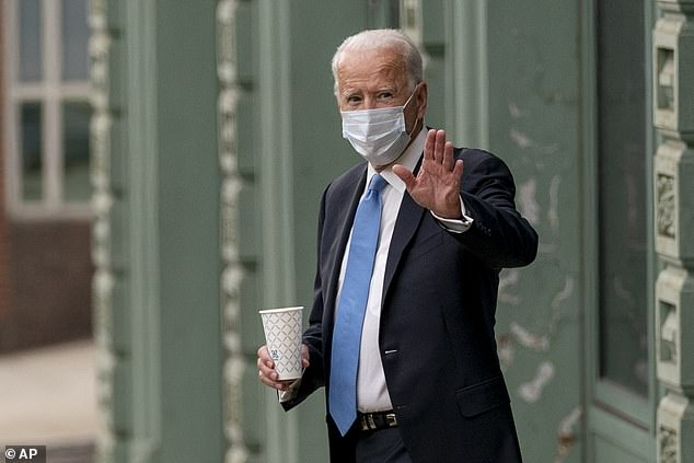 Democratic nominee Joe Biden sent well wishes to President Donald Trump and first lady Melania Trump after the overnight news that the couple had tested positive for the coronavirus
