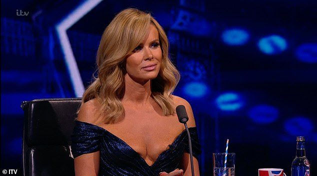 Complaints: Britain's Got Talent became the most criticized TV show of the decade with Amanda's racy dress (pictured) receiving 235 Ofcom complaints