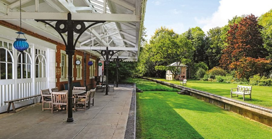 It was converted after the railway line which ran through Droxford was closed to passengers in 1955 and to goods seven years later