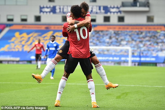 United have too many attacking players like Rashford and Fernandes who don't want to defend