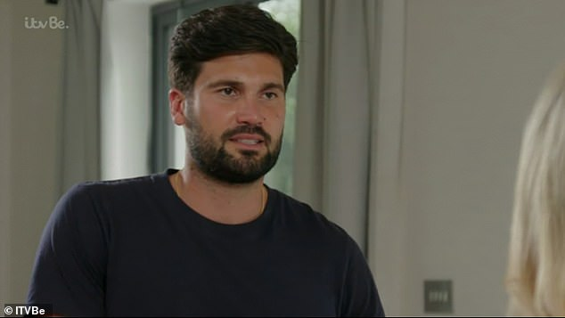 'Rebound': At the end of the dramatic episode, viewers saw a clip of Chloe on next week's episode talking about her ex Dan Edgar where she called it a 'rebound'