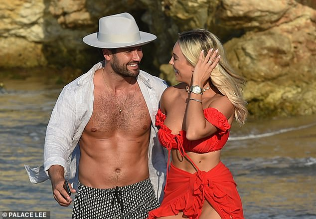 Relationship history: Before rekindling their romance, Dan briefly dated Chloe and Amber suggested that Demi has been 'insinuating' the hunk wanted their romance woes to get back to his former flame