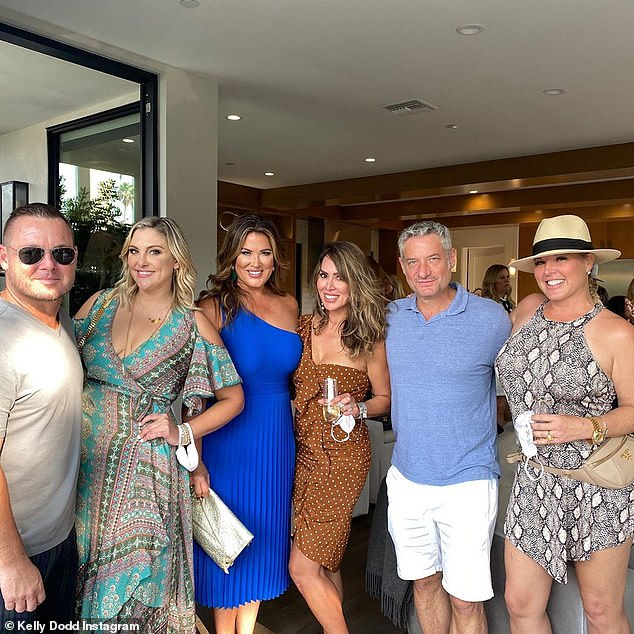 Concerns:While some users focused on the questionable apparel, others were more concerned with the lack of face masks and social distancing during the day where RHOC co-stars Emily Simpson, Gina Kirschenheiter and Elizabeth Vargas were in attendance