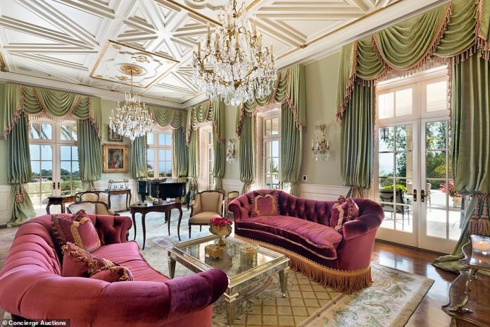 Earlier this year Mr Nesbitt reduced the asking price for the Montecito, California, estate to $55million, having been trying to sell it since 2016
