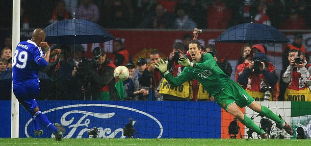 The calming effect goalkeeper Edwin van der Sar brought to United's defense was immediate - he saved that Nicolas Anelka penalty as United won the 2008 Champions League.