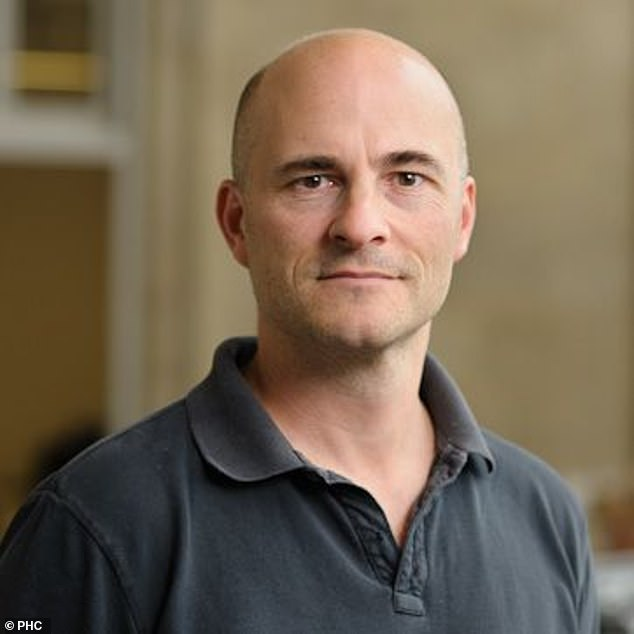 Dr Jason Oke (pictured) a senior statistician at the Oxford centre says local lockdowns 'don't seem to be having much impact on infections'