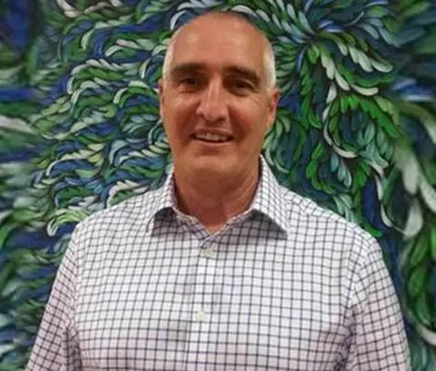 The body of 55-year-old Guy Andrew (pictured) was found near Mt Coot-Tha in Brisbane on October 8 after disappearing five days earlier