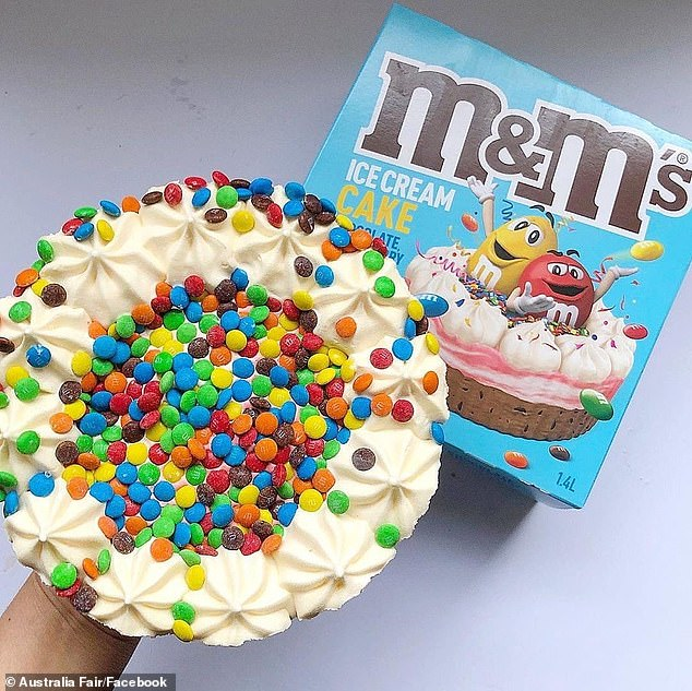 Woolworths Secretly Launch A Delicious Mini M Ms Ice Cream Cake In Stores 247 News Around The World