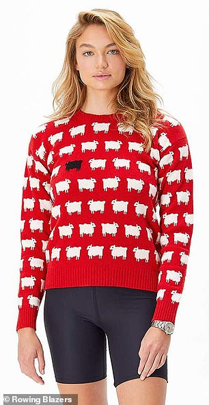 Pre-order: They had originally stopped producing the jumper in 1994 (a model wearing the re-released design)