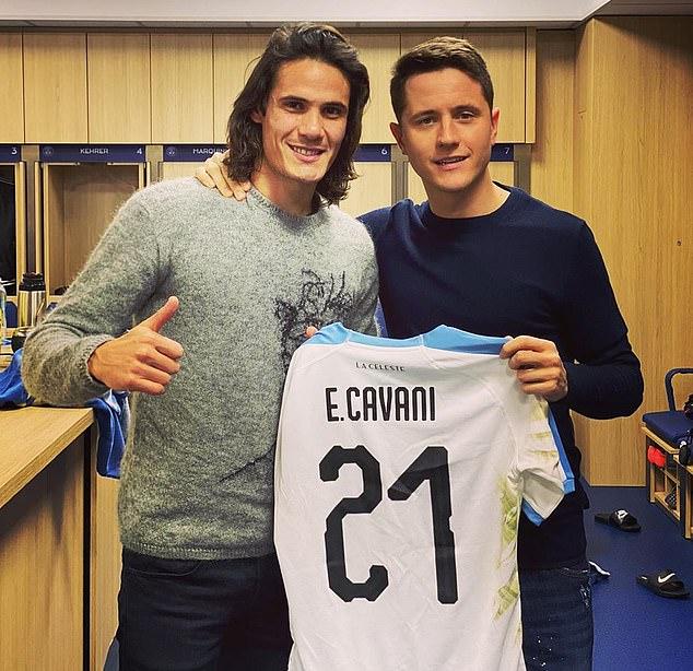 Edinson Cavani révèle comment Ander Herrera a joué un grand rôle en  l'aidant à rejoindre Manchester United | FR24 News France