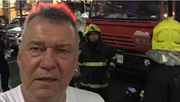 Shocking! The 64-year-old rocker said in his Story Time podcast this week that he walked away from the Erawan Shrine in Thailand moments before was rocked by an explosion in the 2015 Bangkok bombing. Jimmy is pictured at the aftermath of the explosion