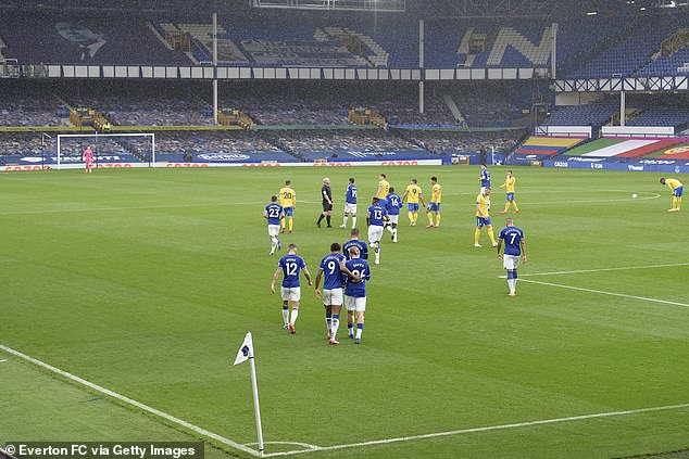 Everton will lose the advantage of their loyal support creating the atmosphere of the day of the derby