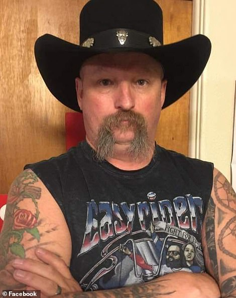 Keltner was identified as the victim by family members who revealed the grandfather and military veteran was shot dead in front of his 24-year-old son.