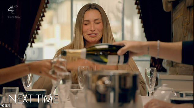 Coming up:Made In Chelsea viewers will finally witness the drama unfold between Sam Thompson and Zara McDermott on next week's instalment