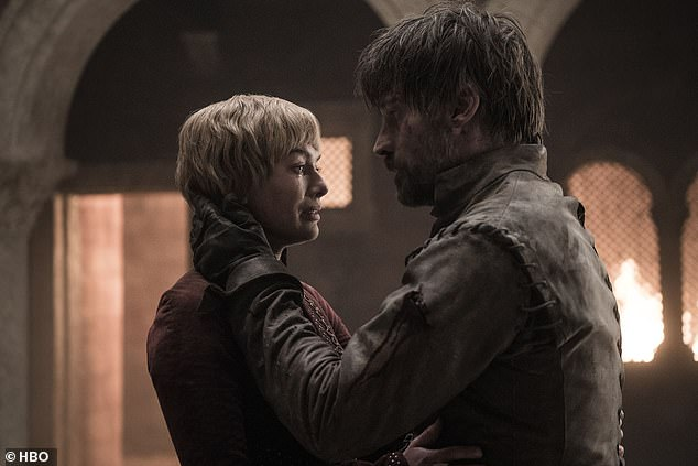 Posed: Nikolaj also claimed that his character Jamie Lannister's sister Cersei was also 'never seen as an equal just because of the sex'