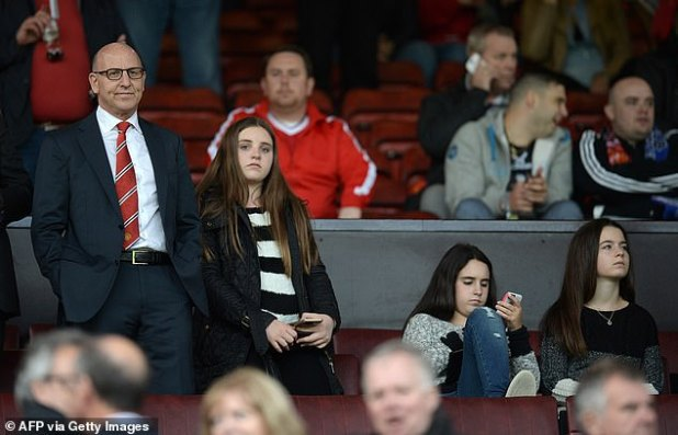 Joel Glazer (left) teamed up with his rival to put forward huge plans in Liverpool