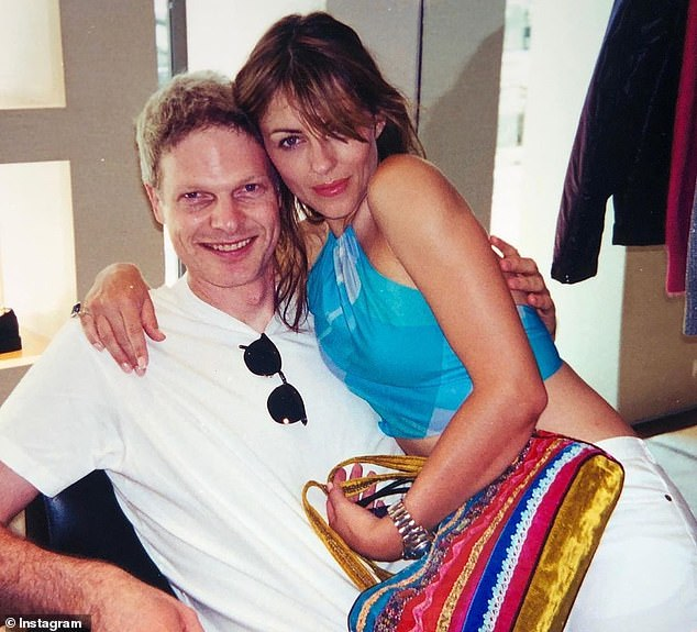Opening up:Elizabeth recently revealed she had reconnected with former partner Steve Bing - the father of her 18-year old son Damian - shortly before his death by suicide in June