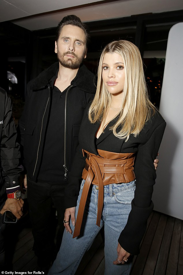 Still healing:Sofia Richie, 22, is reportedly 'still healing from the breakup between her and Scott' (pictured in February 2020)