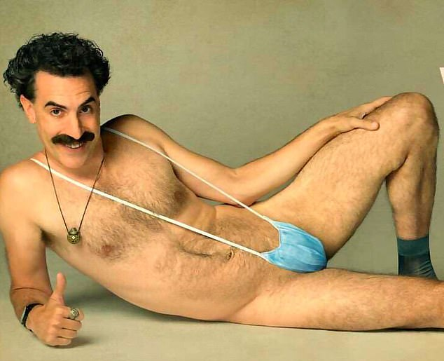 Love for a lifetime: Isla and Borat star Sacha met at a party in Australia back in 2002, tying the knot in 2010 (pictured in Borat)