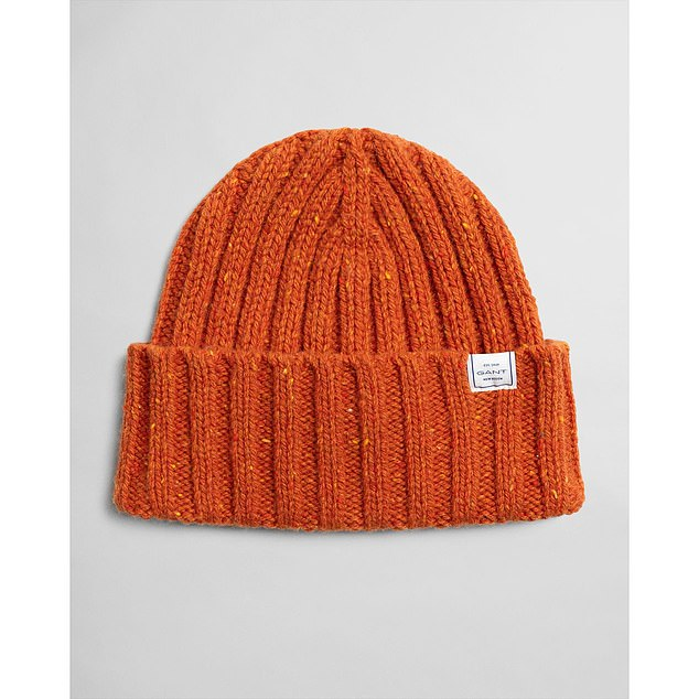 Because some things can never be too chunky! Hat, £45, gant.co.uk