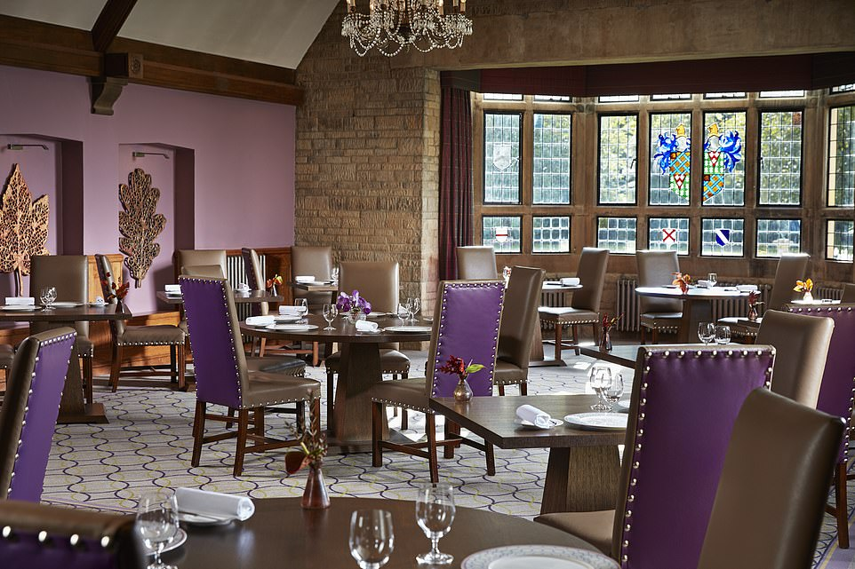 The Michelin-starred Bybrook restaurant, where diners can experience exceptional dishes by head chef Rob Potter