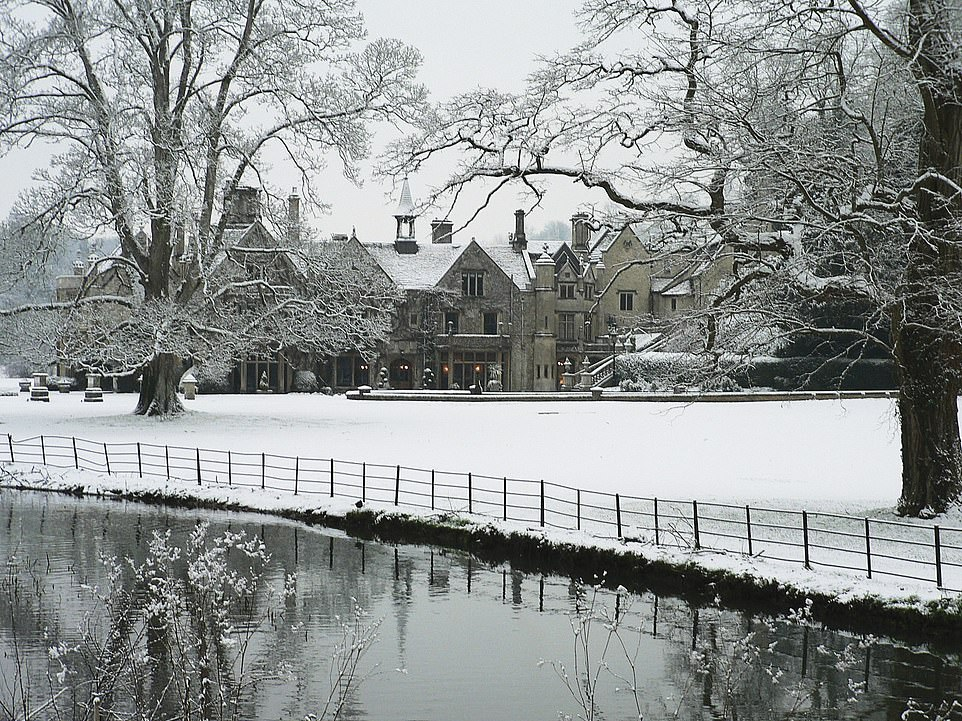 Winter is coming... and The Manor House looks particularly romantic with a dusting of snow