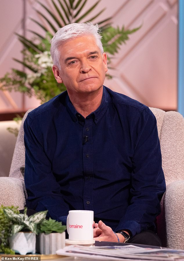 Sharing his truth: Phil, who has just released his autobiography Life's What You Make It, also described last Christmas as the 'toughest time ever' as he 'couldn't eat or sleep'