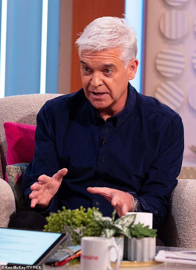 'I just sat in my flat':The media personality told how he ran off set to vomit during the darkest days of hiding his secret