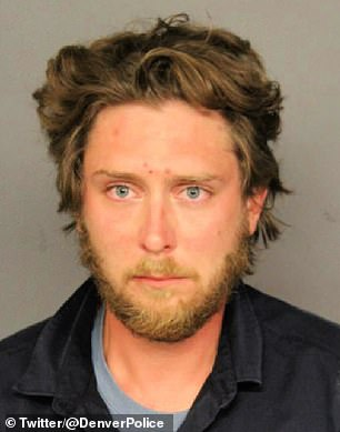 Dolloff, 30, (pictured in his mugshot) is jailed on suspicion of first-degree murder for shooting Keltner