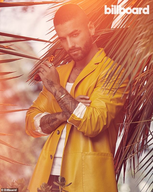 """He had input:Maluma added: 'Everything was very fast. When I knew I was going to be part of the project, we were like, """"OK, we need to start writing songs."""" I was in Colombia. I brought over one of my producers — Edgar Barrera'"""