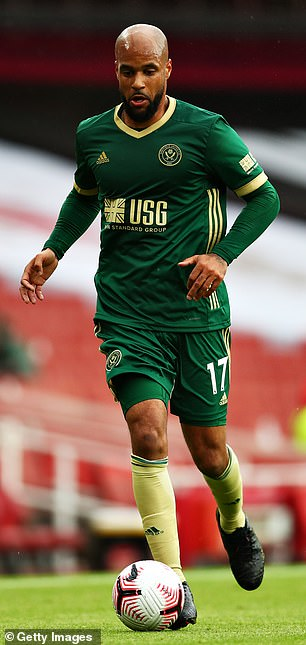 Sheffield United's McGoldrick was also abused online because of the colour of his skin