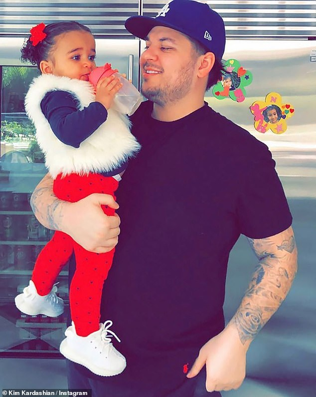 Custody battle: The exes have been dealing with their ongoing custody battle over daughter Dream, three, in addition to allegations of assault and battery