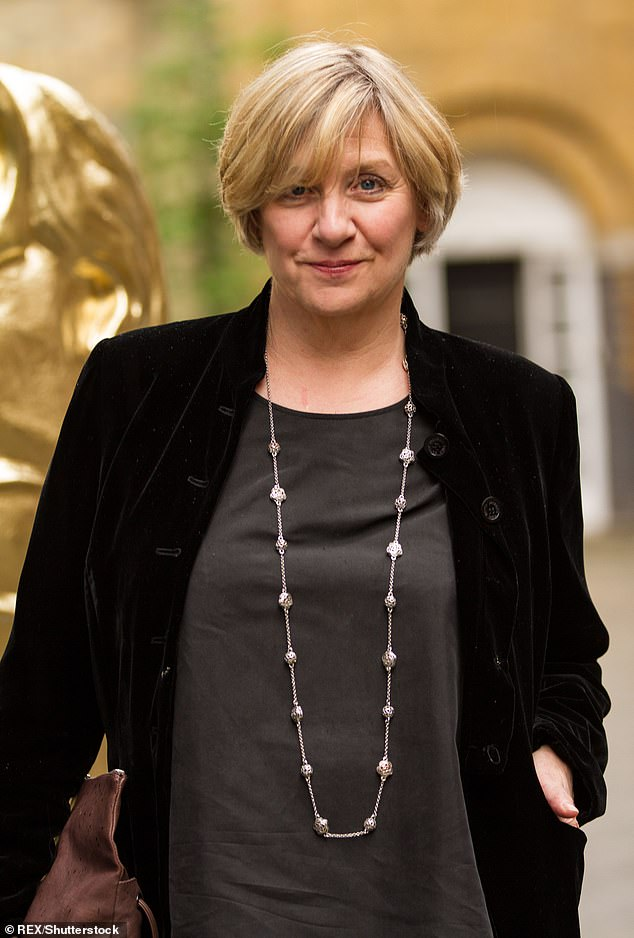 Battle: Victoria Wood secretly fought cancer for four years before her passing in April 2016, a new biography is said to reveal (pictured in 2014)