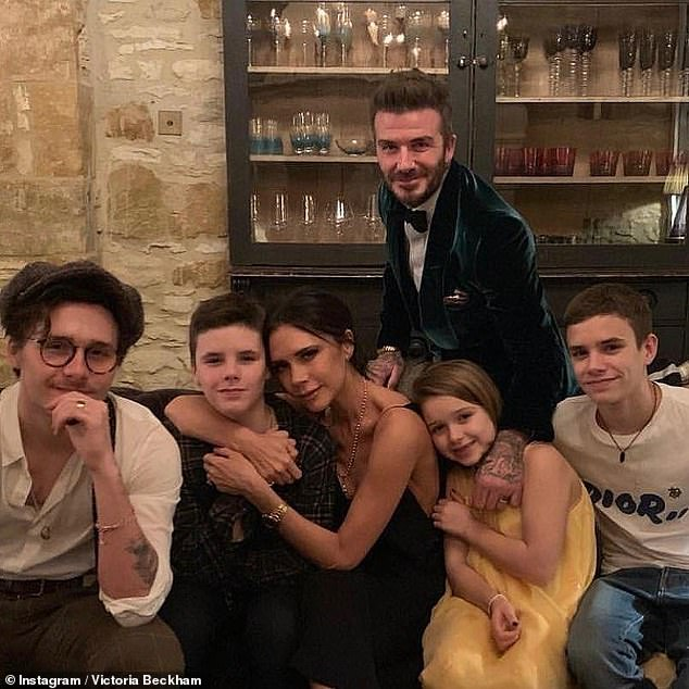 Grand: The couple will reportedly marry in two celebrations on both sides of the Atlantic with Brooklyn's brothers Romeo and Cruz as best men and sister Harper as chief bridesmaid
