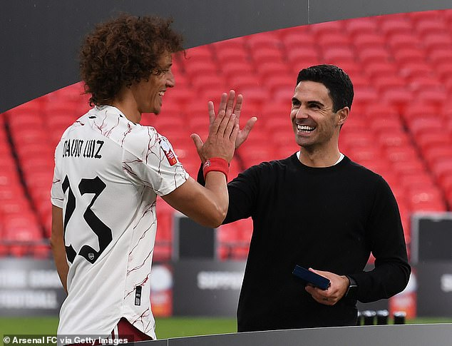 However, Mikel Arteta has continued to put his faith in Luiz and it's paying off at the Emirates