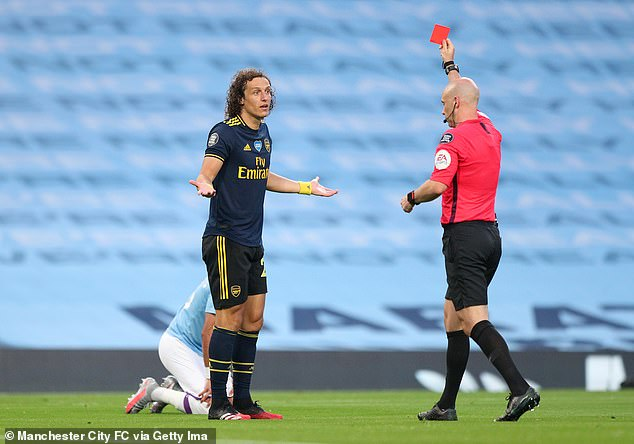 David Luiz endured a horror show on his last outing at Manchester City last season