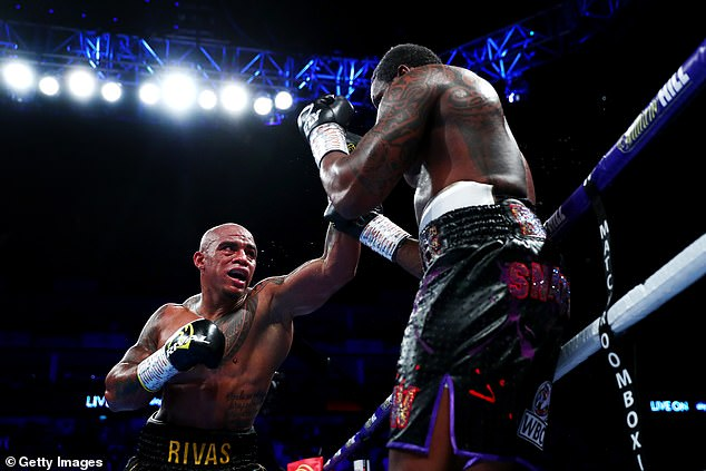 The Colombian, known as 'Kaboom' floored the Brit in the ninth round at the 02 Arena last year