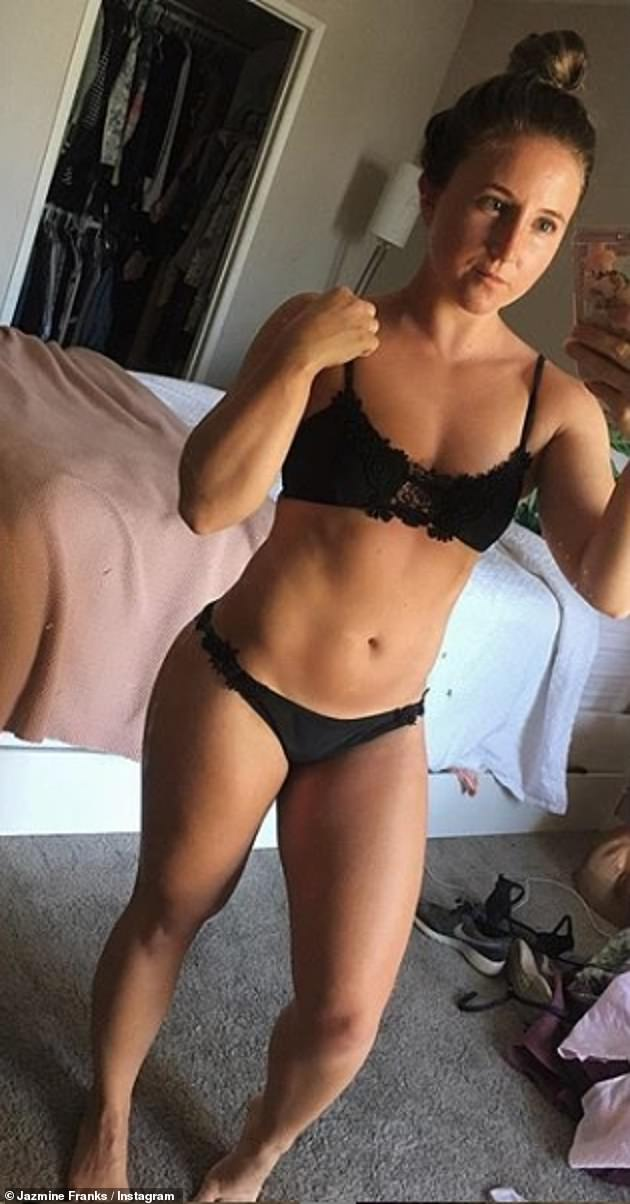 Transformation:Since leaving the soap, Jazmine has been on a health kick for over a year and the actress has shed more than a stone with her dedication to fitness and healthy living